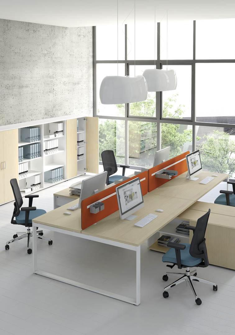 panouri acustice separatoare birou